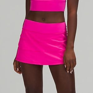 🔥 NWT Lululemon Pace Rival Skirt - Sonic Pink 2